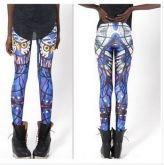 Legging coruja galaxy